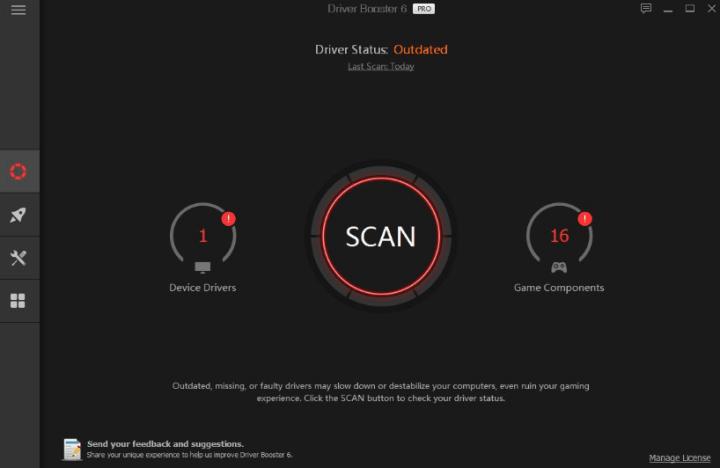 IOBIT Driver Booster Pro Crack1